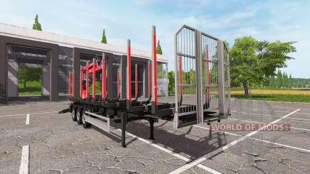 Fliegl Timber v1.3 für Farming Simulator 2017