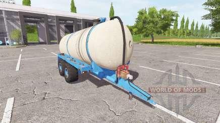 Die trailer-Zisterne für Gülle für Farming Simulator 2017