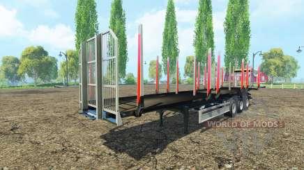 Le bois de la semi-remorque Fliegl v1.1 pour Farming Simulator 2015