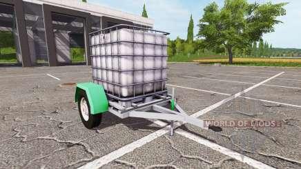 Der Anhänger mit Wassertank für Farming Simulator 2017