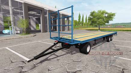 Der trailer-Plattform für Farming Simulator 2017