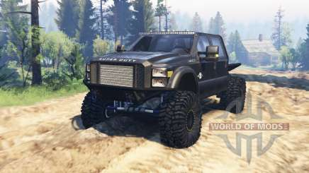 Ford F-450 2014 truggy v2.0 pour Spin Tires