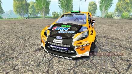 Ford Fiesta RS WRC für Farming Simulator 2015