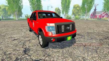 Ford F-150 Fire Department pour Farming Simulator 2015