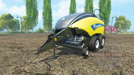 New Holland BigBaler 1290 wet bale pour Farming Simulator 2015