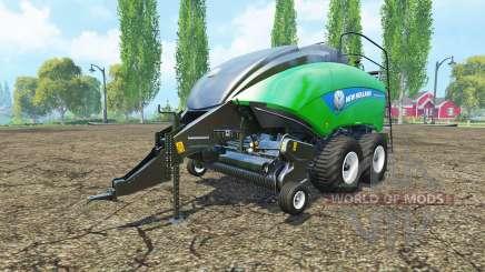 New Holland BigBaler 1290 gras bale pour Farming Simulator 2015