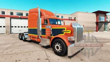 Vintage de la peau pour le camion Peterbilt 389 pour American Truck Simulator