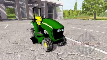 John Deere 3520 mower pour Farming Simulator 2017