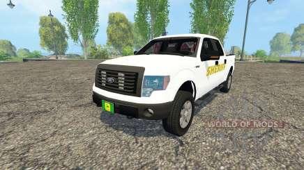 Ford F-150 Sheriff pour Farming Simulator 2015