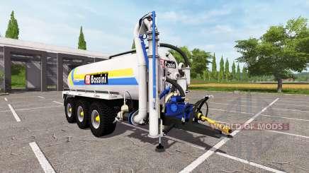 Bossini B200 blue v4.0 für Farming Simulator 2017