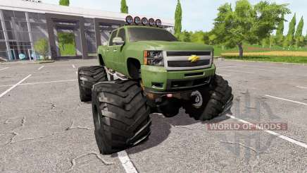 Chevrolet Silverado monster für Farming Simulator 2017