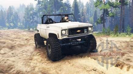 Chevrolet K5 Blazer crawler pour Spin Tires