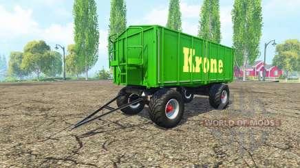 Kroger HKD 302 Krone v1.4 für Farming Simulator 2015