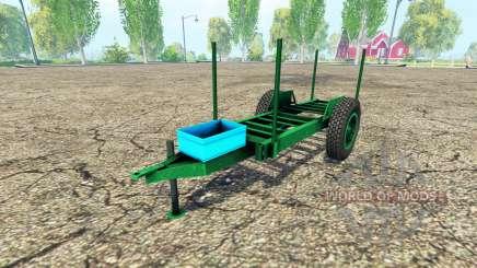 Rustique en bois de la remorque pour Farming Simulator 2015