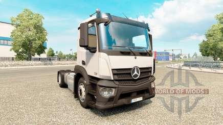 Mercedes-Benz Antos v1.1 pour Euro Truck Simulator 2