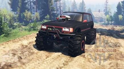 Toyota Land Cruiser 80 VX v2.0 für Spin Tires