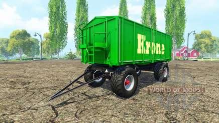 Kroger HKD 302 Krone für Farming Simulator 2015