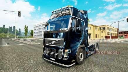 Abstrakte Wirkung Haut für Volvo-LKW für Euro Truck Simulator 2