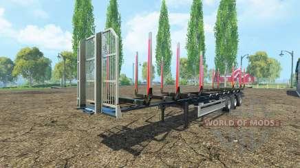 Semi-remorque Fliegl timber v2.0 pour Farming Simulator 2015