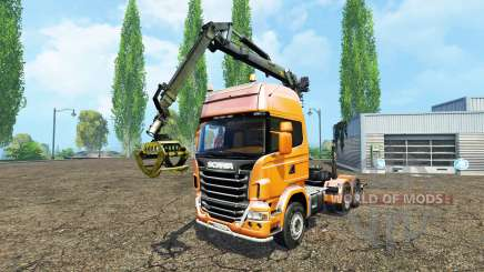 Scania R730 forest für Farming Simulator 2015