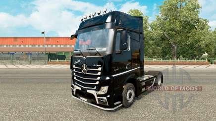 Haut Brutale für Traktor Mercedes-Benz für Euro Truck Simulator 2