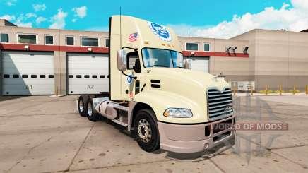 La peau Stater Bros le Mack Pinnacle tracteur pour American Truck Simulator