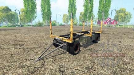 La forêt de la remorque GKB pour Farming Simulator 2015