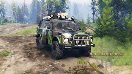 VAZ 2121 Niva-Expedition v4.0 für Spin Tires