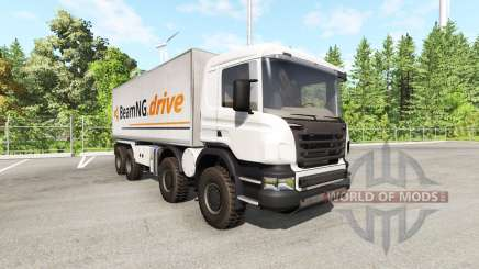 Scania 8x8 heavy utility truck v2.0 pour BeamNG Drive
