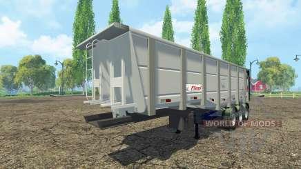 Benne semi-remorque Fliegl pour Farming Simulator 2015