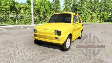 Fiat 126p v2.0 für BeamNG Drive