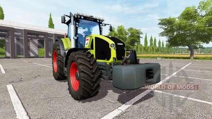CLAAS Axion 950 v2.1 für Farming Simulator 2017