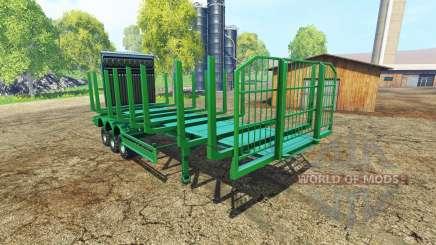 Eine große, semi-trailer-Holz für Farming Simulator 2015