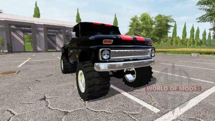 Chevrolet C10 Fleetside 1966 für Farming Simulator 2017