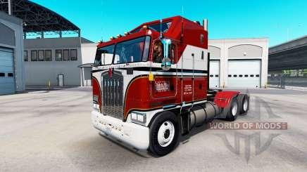 La peau Billie Joe sur tracteur Kenworth K100 pour American Truck Simulator