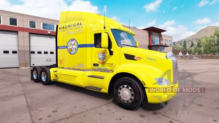 La peau Los Pollos Hermanos camion sur un Peterbilt 579 pour American Truck Simulator
