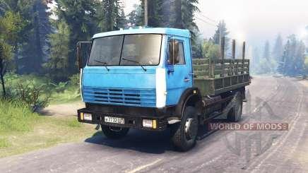 KamAZ 43253 für Spin Tires