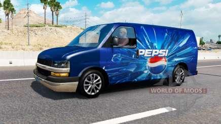 Des logos de la société dans le trafic v0.7 pour American Truck Simulator