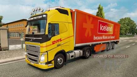 Skins für den LKW-Verkehr v2.2 für Euro Truck Simulator 2
