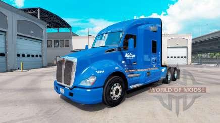 De la peau à Melton camion Kenworth T680 pour American Truck Simulator