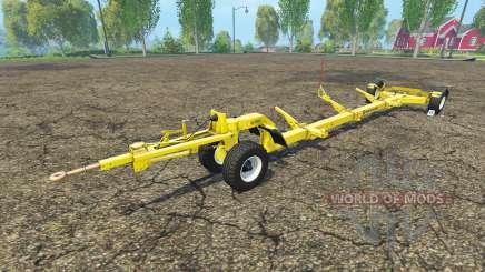 Der Anhänger für Mähdrescher New Holland für Farming Simulator 2015