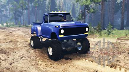 Ford F-100 1968 StepSide pour Spin Tires