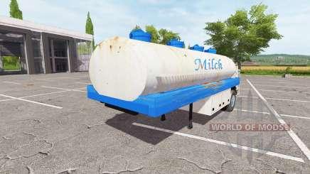 Die Auflieger-tank für Farming Simulator 2017