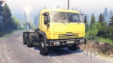KamAZ 54115 v3.0 für Spin Tires