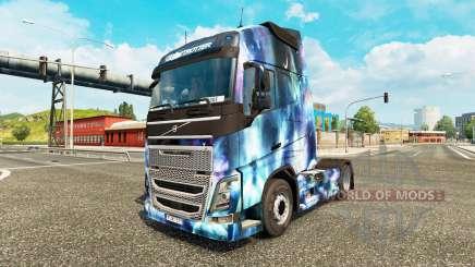 Haut Raum der Natur auf einem Volvo truck für Euro Truck Simulator 2