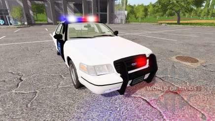 Ford Crown Victoria Police pour Farming Simulator 2017