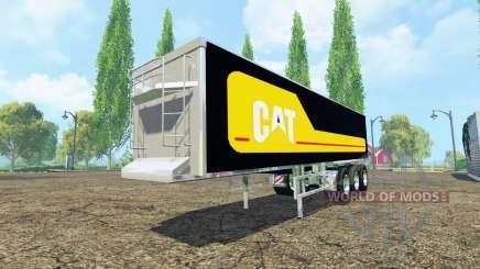 Kroger Agroliner SRB3-35 Caterpillar chrome pour Farming Simulator 2015