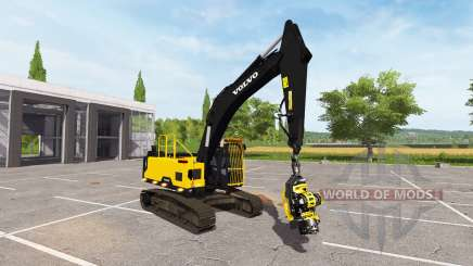Volvo EC300E foresty cutter pour Farming Simulator 2017