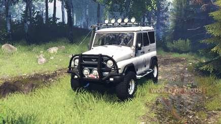 UAZ 315195 chasseur v5.0 pour Spin Tires
