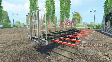 Le bois de la semi-remorque Fliegl v1.5 pour Farming Simulator 2015